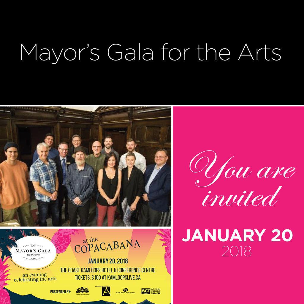 Nominated for Mayor's Gala for the Arts Award 2018!