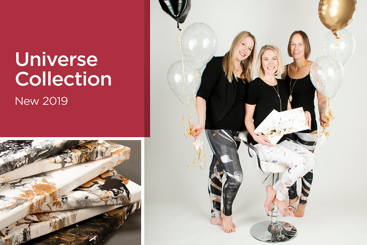 Universe Collection 2019 - Kristina Benson Art - Wearable Art Leggings and Capris