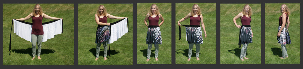 Kristina Benson Art - How to tie a Wrap Skirt