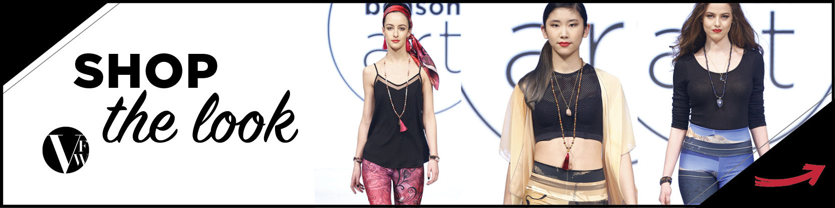 Shop the Look - Vancouver Fashion Week and Kristina Benson Art - Yoga Leggings
