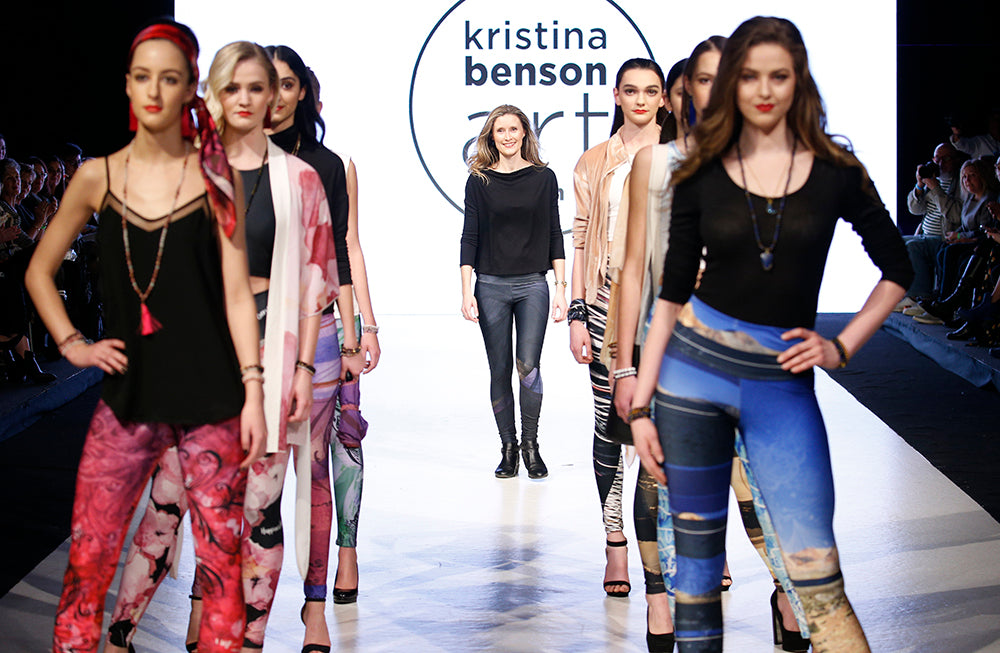 Vancouver Fashion Week - Kristina Benson Art - 2018