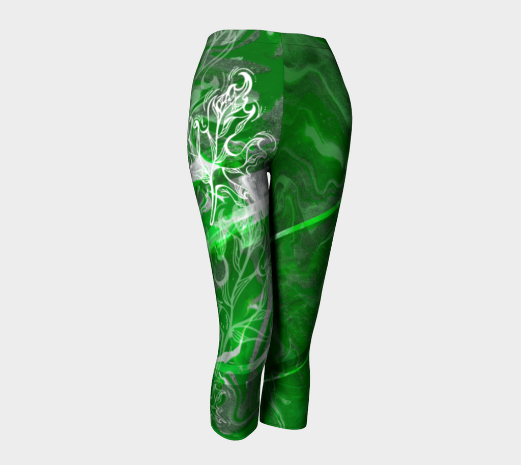 Canada Marble - Green - Capris