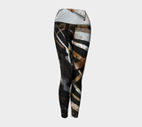 Gold Electric - Yoga Leggings