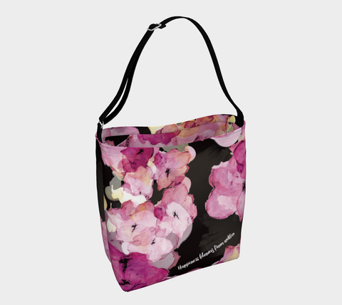 DAY TOTE - Happiness Blooms From Within