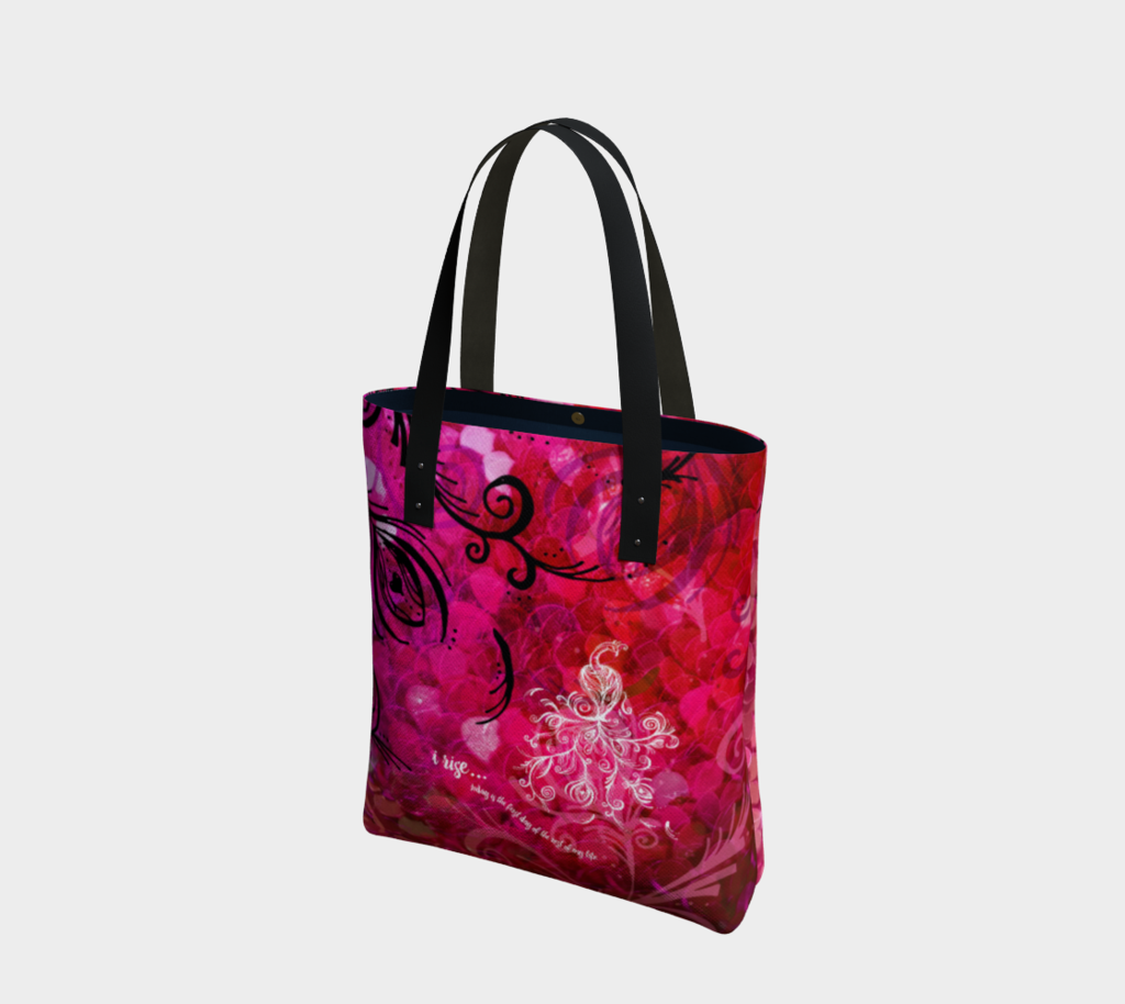 URBAN TOTE - I Rise Red