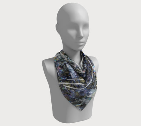 "Shine Brilliant - 36"" Square Scarf"
