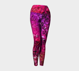 I Rise Red - Yoga Leggings