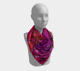 "I Rise Red - Scarf 36"" Square"