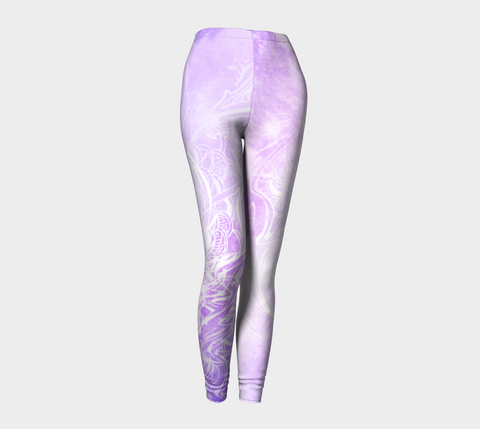 Wings Like Eagles Lavender - Leggings