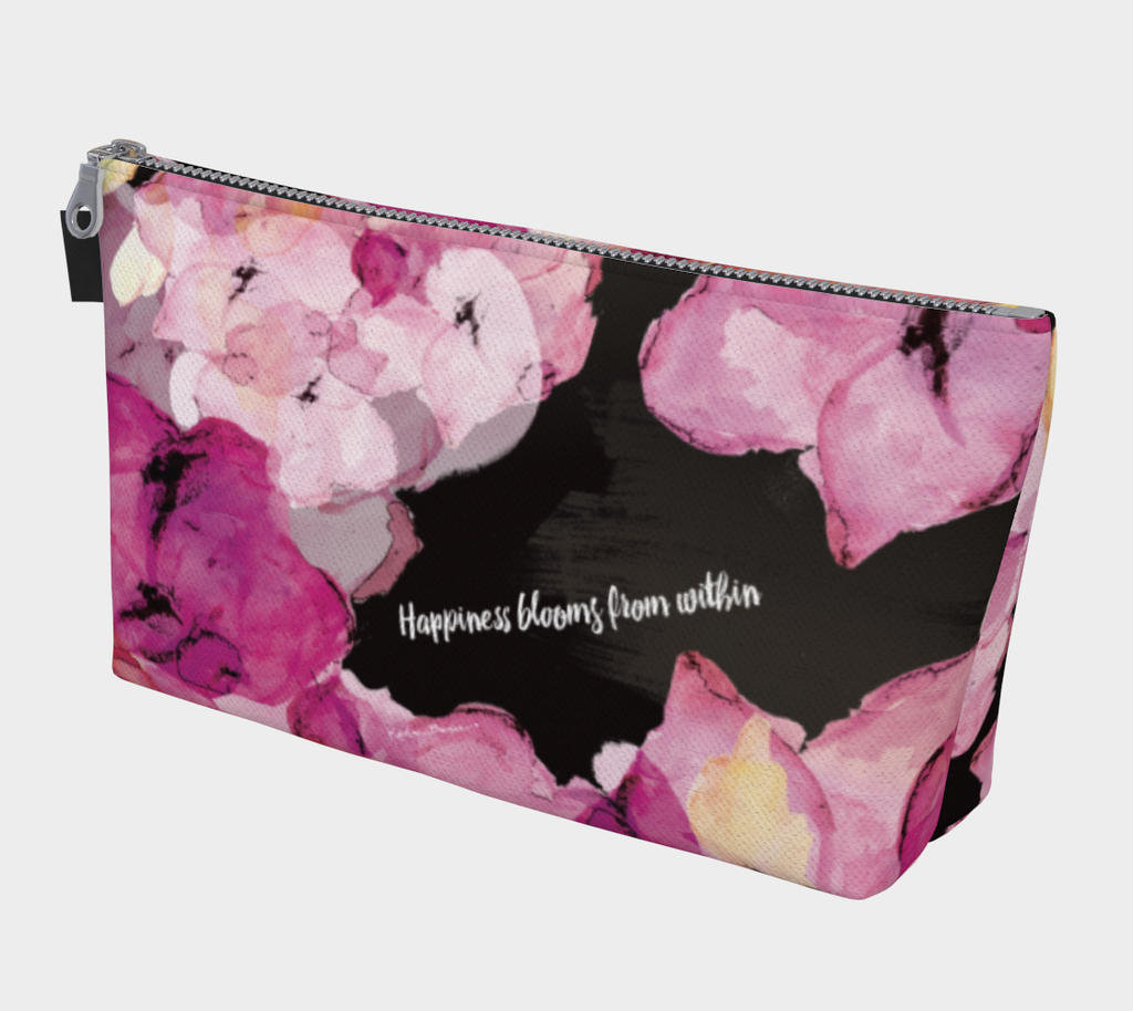 Happiness Blooms - Makeup Bag