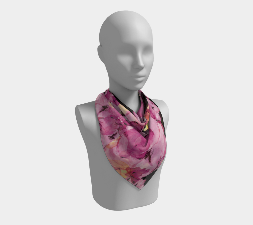 Happiness Blooms - Square Scarf