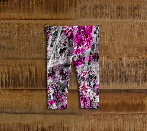 Shine Fuschia - Baby Leggings