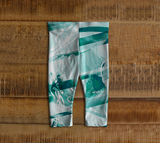 Infinite Love Turquoise - Baby Leggings