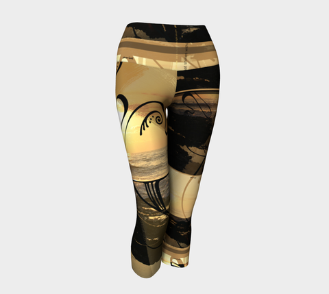 Sunset Journey - Yoga Capris