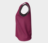 Good Vibes Magenta - Loose Tank Top