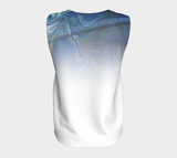 Canada Marble, Blue Green - Loose Tank Top