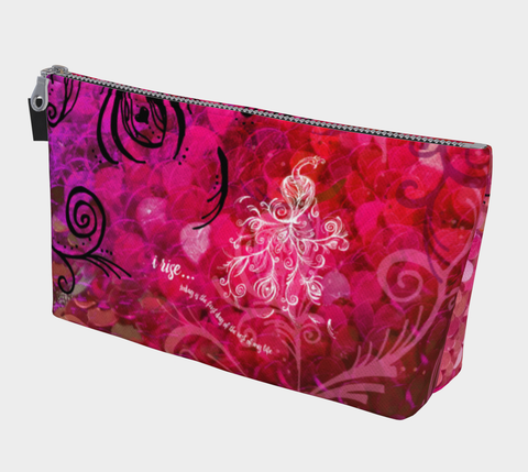 I Rise Red - Makeup Bag