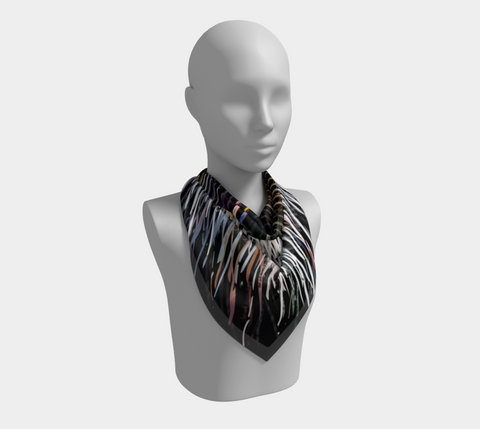 It's Time - Square Scarf