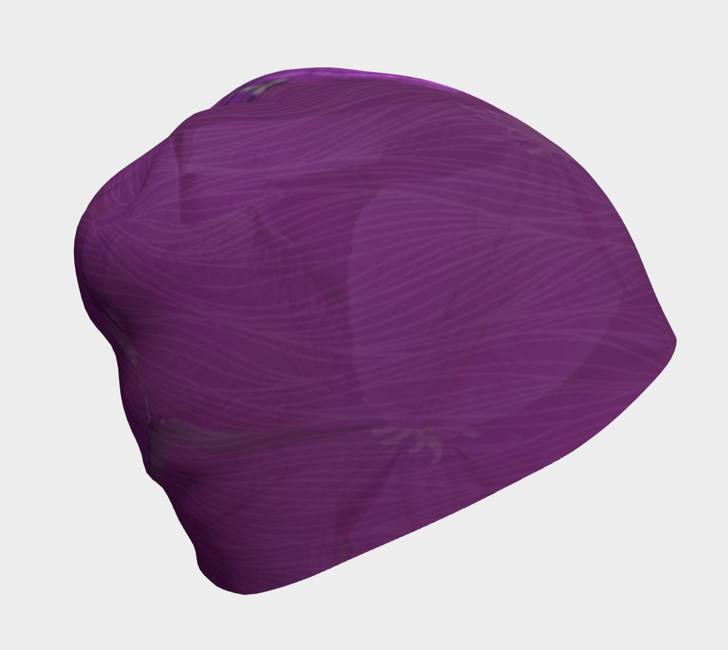 Clematis Picture - Beanie