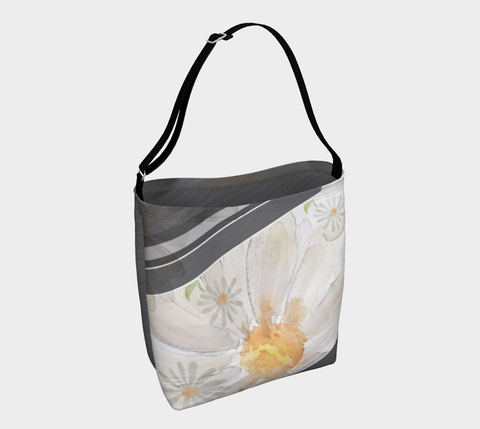 Daisy Painting - Day Tote
