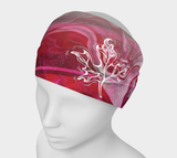 Canada Marble, Pink Red - Headband
