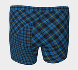 Tartan with a Twist, Blue - Men's Boxer Briefs
