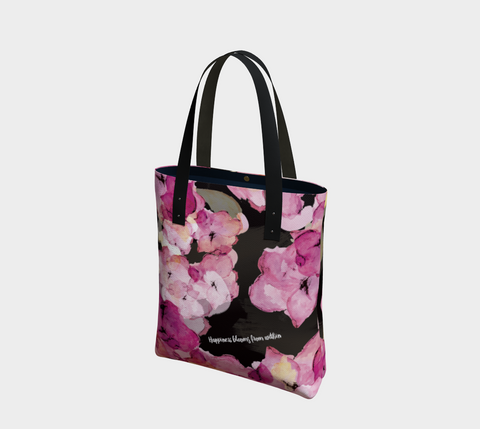 Happiness Blooms - Urban Tote