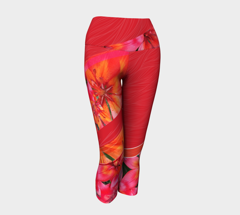 Lily Picture - Yoga Capris