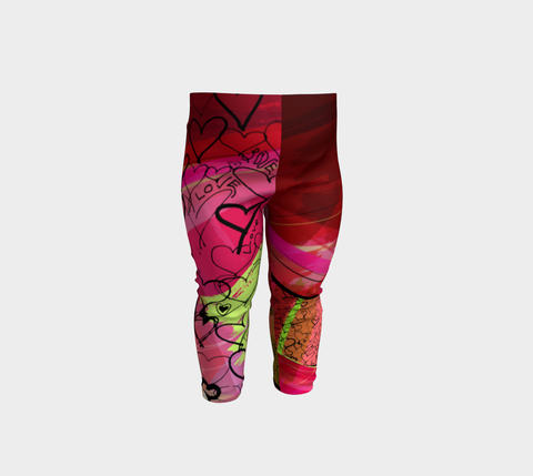 Love Hearts - Baby Leggings