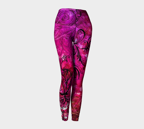 I Rise Red - Leggings