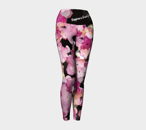 Happiness Blooms - Yoga Leggings