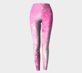 Wings Like Eagles Pink - Leggings