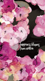 Lock Screen Art - Happiness Blooms From Within