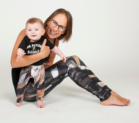 Gold Reach - Baby Leggings