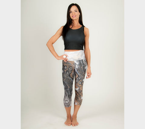 Gold You - Yoga Capris