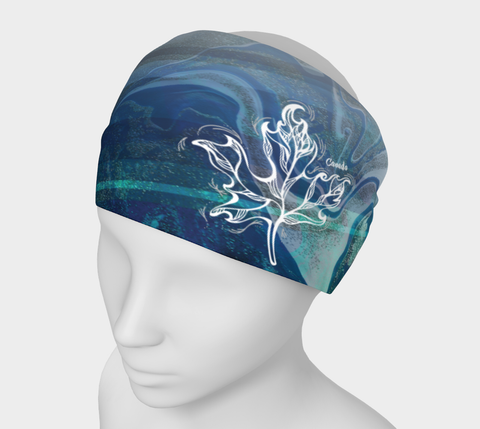 Canada Marble, Blue Green - Headband
