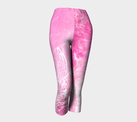 Wings Like Eagles Pink - Capris