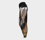 Gold Reach - Yoga Leggings