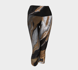 Gold Reach - Yoga Capris