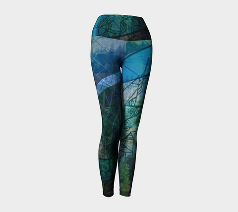 LARGE - Believe - Yoga Leggings