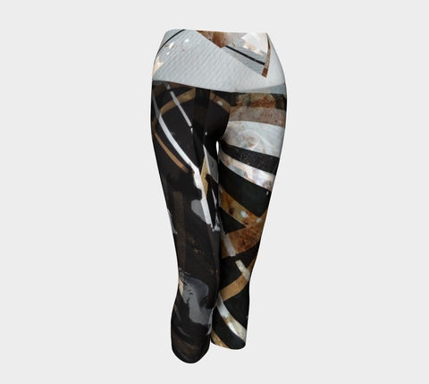 Gold Electric - Yoga Capris