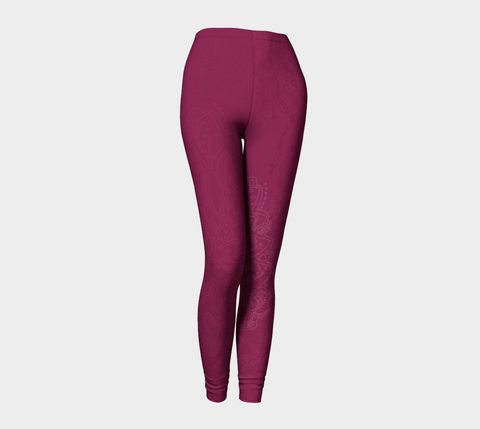 Good Vibes Magenta - Leggings