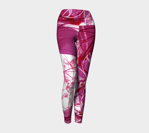 SMALL - The Creative Palm Tree - Yoga Leggings