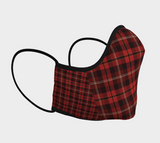 Tartan Red - Face Covering