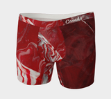 Canada Marble, Red - Men's Boxer Briefs