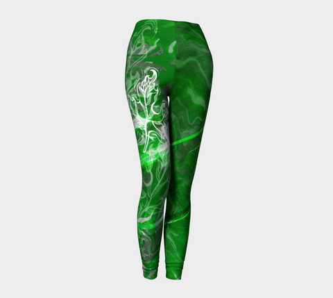 Canada Marble - Green - Leggings