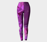 Clematis Picture - Leggings