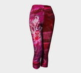 Canada Marble - Multi Pink Red - Capris