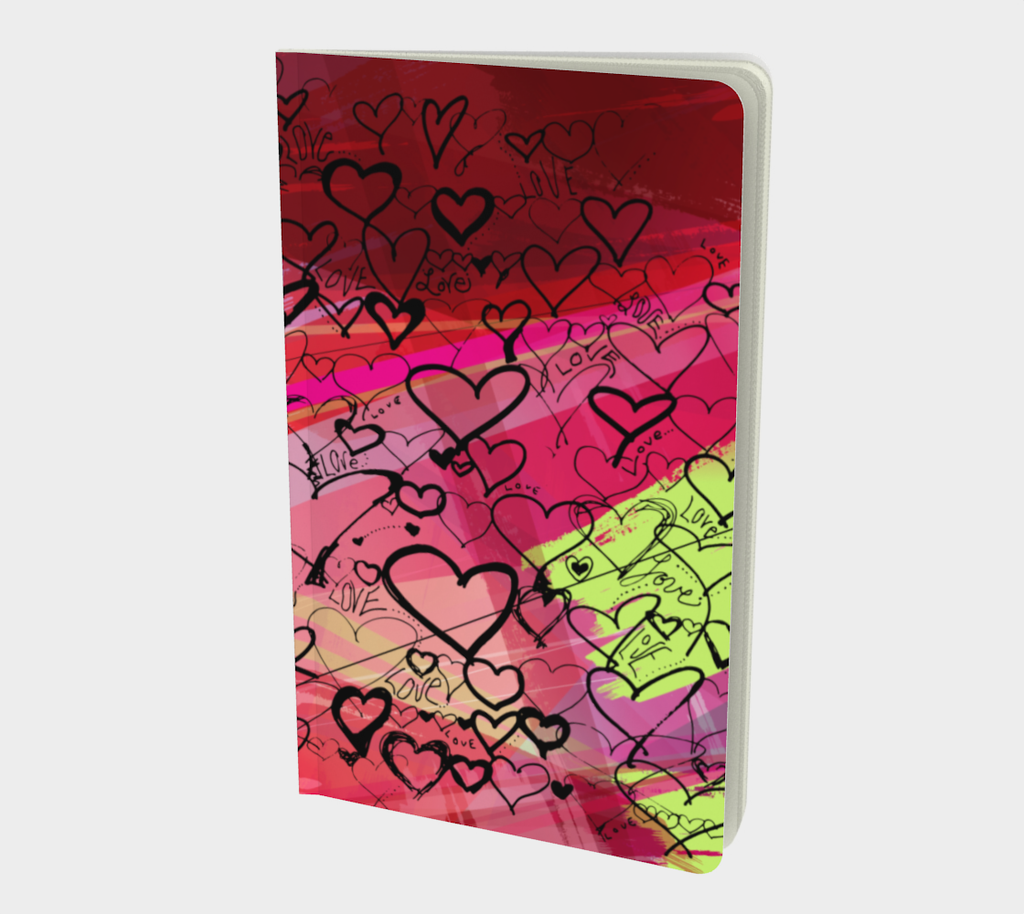 Love Hearts - Notebook