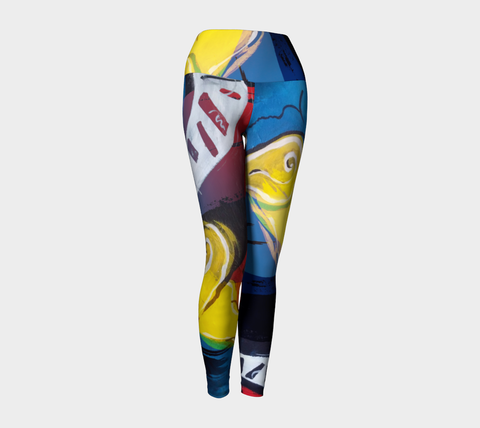 SMALL - Jazz - Yoga Leggings
